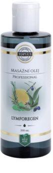 Topvet Lymforegen óleo de massagem - drenagem linfática