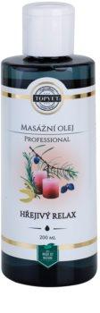 Topvet Professional óleo para massagens - warm relax