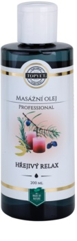 Topvet Professional масажно олио - загряващ релакс