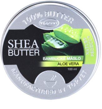 Topvet Shea Butter Sheabutter mit Aloe Vera