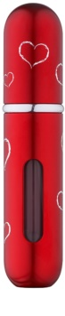 Travalo Classic HD Hearts Refillable Atomiser unisex 5 ml  Red
