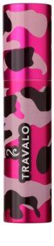 Travalo Classic plastichoesje voor navulbare parfum verstuiver  unisex Camouflage Pink
