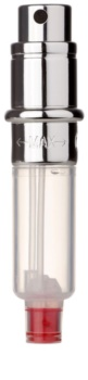 Travalo Engine vaporizador de perfume recarregável recarga unissexo Silver