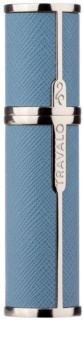 Travalo Milano Case U-change metalowa obudowa na napełnialny flakon unisex Light Blue