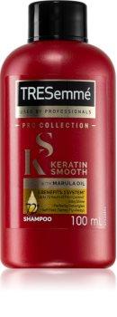 TRESemmé Keratin Smooth Shampoo für trockenes und beschädigtes Haar