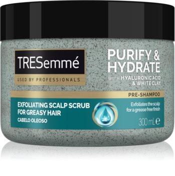 TRESemmé Purify & Hydrate exfoliant de curățare pentru par si scalp