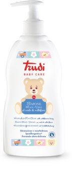 Trudi Baby Care jemné dětské tekuté mýdlo s květinovým medem na tělo a obličej