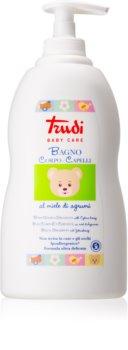 Trudi Baby Care detské mlieko do kúpeľa a šampón s medom z citrusov