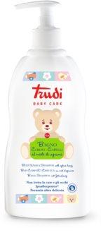 Trudi Baby Care dětské koupelové mléko a šampon s medem z citrusů