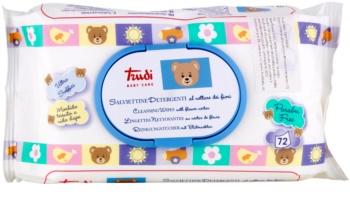 Trudi Baby Care salviette detergenti umidificate con nettare di fiori