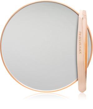 Tweezerman Studio Collection ensemble miroir et pince à épiler