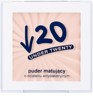 Under Twenty ANTI! ACNE матираща пудра за мазна кожа склонна към акне