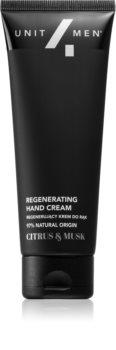 Unit4Men Regenerating hand cream regenerační krém na ruce