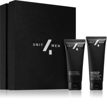 Unit4Men Caring Set Citrus & Musk Set für Körper und Gesicht
