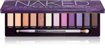 Urban Decay Naked Ultraviolet палитра сенки за очи
