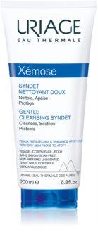 Uriage Xémose Gentle Cleansing Syndet jemný čisticí gelový krém pro suchou až atopickou pokožku