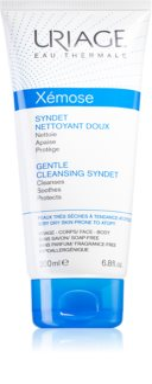 Uriage Xémose Gentle Cleansing Syndet нежно почистващ гел крем за суха към атопична кожа