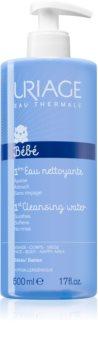 Uriage Bébé 1st Cleansing Water gyengéden tisztító víz arcra és testre