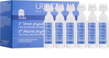 Uriage 1érs Soins Bébés solução fisiológica natural para acalmar olhos e mucosas nasais