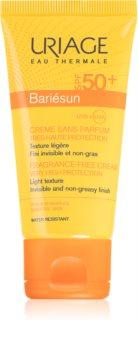 Uriage Bariésun parfümfreie Sonnencreme für das Gesicht SPF 50+