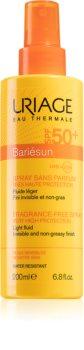 Uriage Bariésun Fragrance-Free Spray SPF 50+ parfümmentes napozó spray SPF 50+