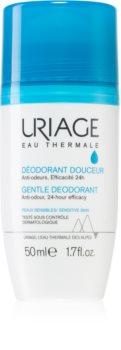 Uriage Hygiène Gentle Deodorant finom dezodor roll-on alumínium mentes