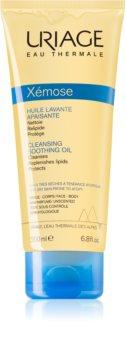 Uriage Xémose Cleansing Soothing Oil zklidňující čisticí olej na obličej a tělo
