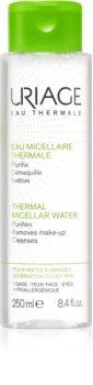 Uriage Hygiène Thermal Micellar Water - Combination to Oily Skin apa pentru  curatare cu particule micele pentru ten gras și mixt