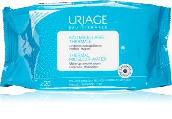 Uriage Hygiène Thermal Micellar Water - Normal to Dry Skin servetele demachiante pentru piele normala si uscata