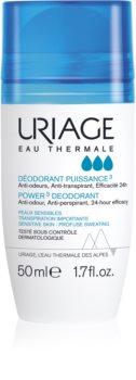 Uriage Hygiène Power3 Deodorant deodorant roll-on proti bílým a žlutým skvrnám