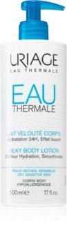 Uriage Eau Thermale Silky Body Lotion копринен лосион за тяло за суха и чувствителна кожа