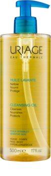 Uriage Hygiène óleo de limpeza para rosto e corpo