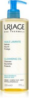 Uriage Hygiène Cleansing Oil mycí olej na obličej a tělo