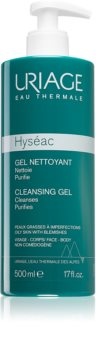 Uriage Hyséac Cleansing Gel лек почистващ гел за лице и тяло