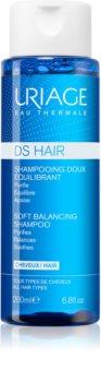 Uriage DS HAIR Soft Balancing Shampoo Puhdistava Hiustenpesuaine Herkälle Päänahalle