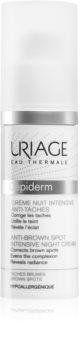 Uriage Dépiderm Anti-Brown Spot Intensive Night Cream Aufhellendes  Creme für Pigmentflecken