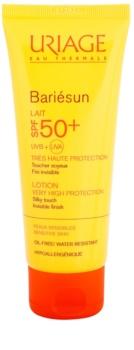 Uriage Bariésun seidig-feine schützende Lotion für Gesicht und Körper SPF 50+