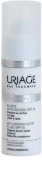 Uriage Dépiderm Fluid gegen Pigmentflecken LSF 15