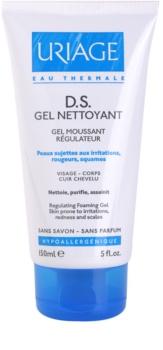 Uriage D.S. gel apaziguador para pele seca e com purido