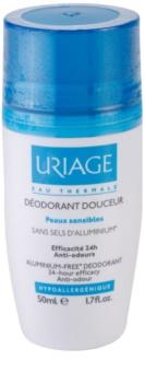 Uriage Hygiène desodorizante suave roll-on sem aluminio