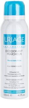 Uriage Hygiene deodorante spray con protezione 24 ore