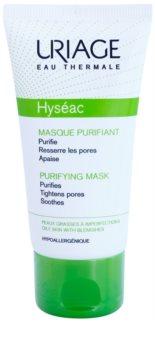 Uriage Hyséac máscara facial de limpeza apaziguador fechar os  poros