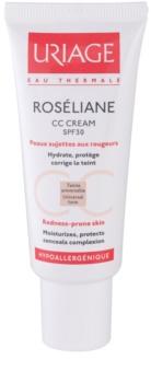 Uriage Roséliane CC cream per pelli sensibili con tendenza all'arrossamento