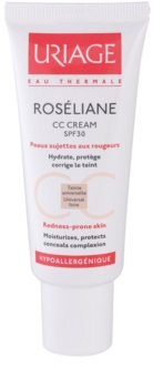 Uriage Roséliane crema CC para pieles sensibles con tendencia a las rojeces