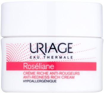 Uriage Roséliane Nourishing Day Cream for Sensitive, Redness-Prone Skin