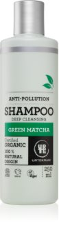 Urtekram Green Matcha șampon de păr pentru curatare profunda