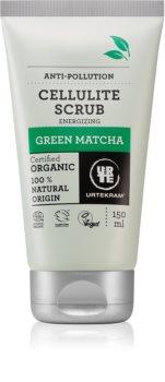 Urtekram Green Matcha Bodypeeling gegen Cellulite mit grünem Tee