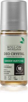 Urtekram Green Matcha deodorante roll-on con estratto di the verde