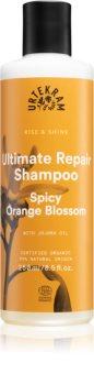 Urtekram Spicy Orange Blossom Hiustenpesuaine Kuiville Ja Vaurioituneille Hiuksille