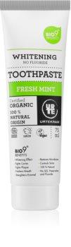 Urtekram Fresh Mint dentifrice blanchissant sans fluorure